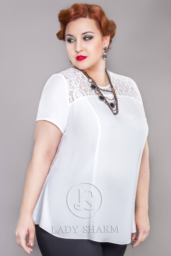 Блуза (17-m287-37/12) (Леди Шарм, Санкт-Петербург) — размеры 70, 76