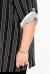 """Рубашка """"Грань"""" (ВК20-061) бело-черный (Терра, Москва) — размеры 60-62"""